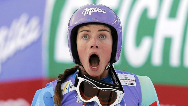 Tina Maze Wins First Gold for Slovenia in Women's Downhill at Sochi