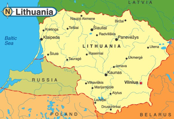 Lithuania Feels the Chill as Cold War Begins Anew
