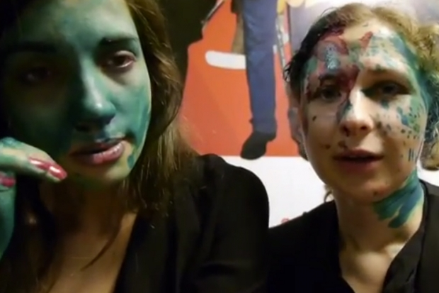 Pussy Riot Stars Attacked in Russia