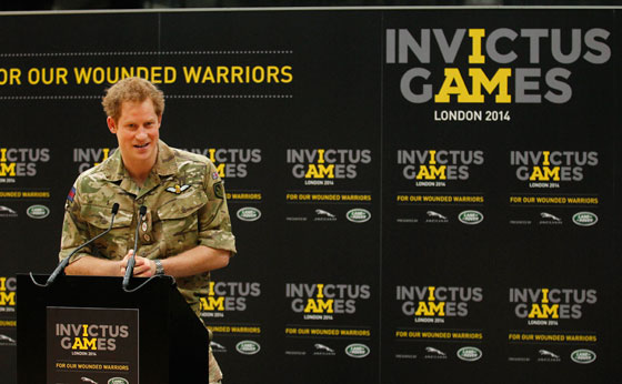 Prince Harry and A-Listers Backing the Invictus Games