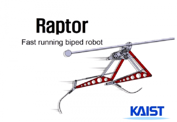 Robot Raptor Developed by Koreans Can Outrun Usain Bolt (Video)