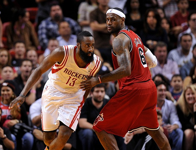 LeBron James Signing With Houston Rockets Would Create a New Big Three
