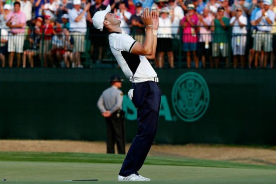 US Open Championship Wire-to-Wire Domination for Martin Kaymer: Golf Shots