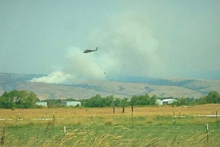 Snag Canyon Fire