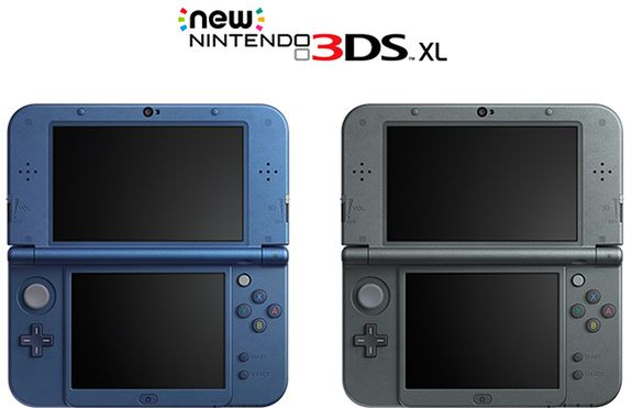 New 3DS and New 3DS XL from Nintendo