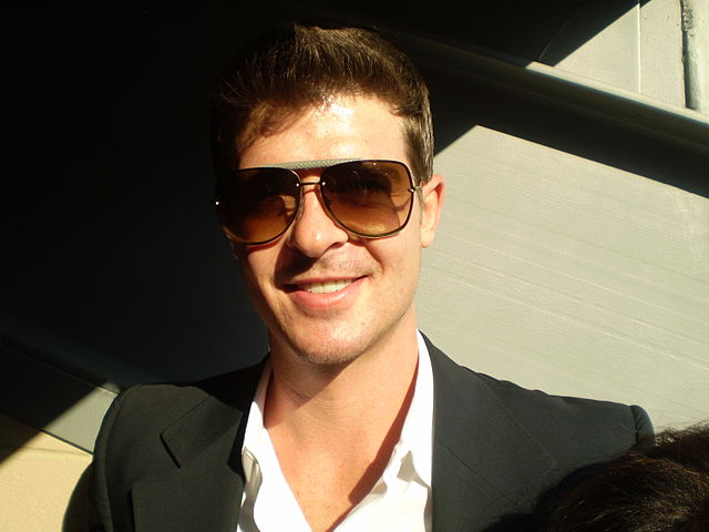 Robin Thicke the Blurred Lines of His Life