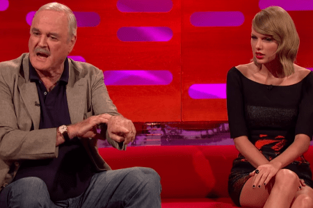 Taylor Swift Versus John Cleese on British Television