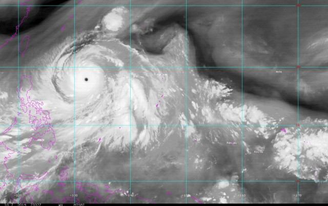 Vongfong, the Perfect Storm, may be Heading Straight for Japan