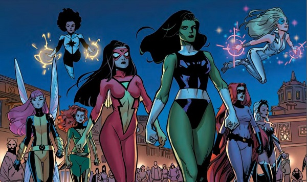 Increased Female Superheroes in Comics: Innovative or Becoming Stagnant?
