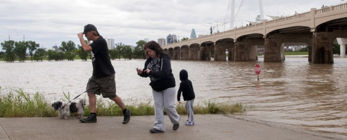 Texas Continues to Clean Up After Flooding