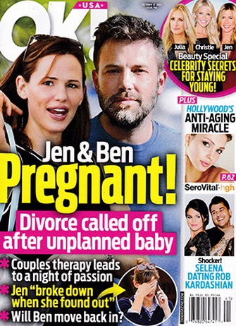 Jennifer Garner Reportedly Pregnant Amid Ben Affleck Divorce