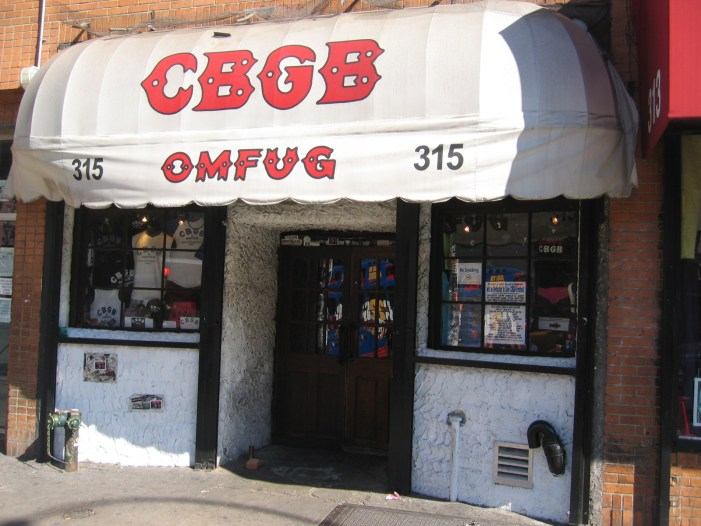 CBGB Reopening in Newark, in Name Only