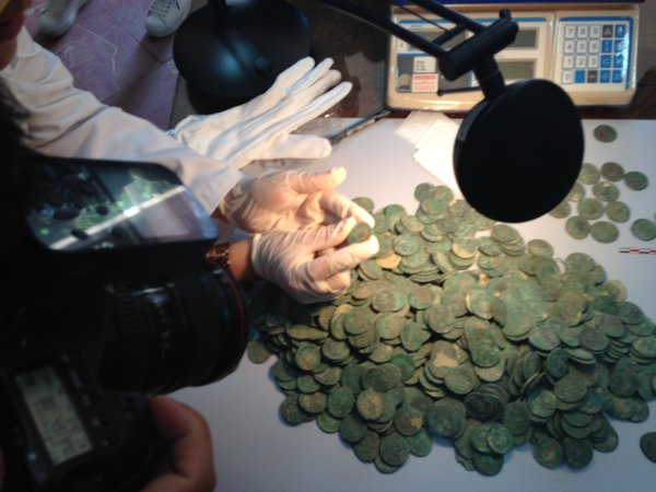 Construction Workers Find Buried Roman Treasure in Spain