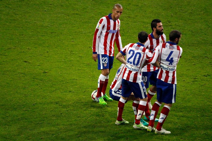 Atletico Madrid Won the Derby of the Day in Champions League