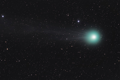 NEOWISE Comet Brightens as It Travels Across the Globe