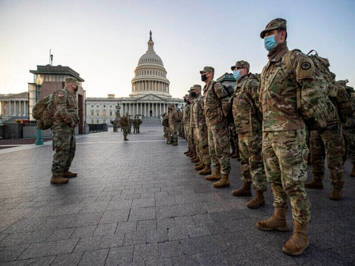 US Capitol Security Increases Ahead of 'True Inauguration Day' March 4th