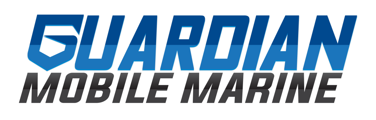 Guardian Mobile Marine Logobased on principles of hard work and playing in the water