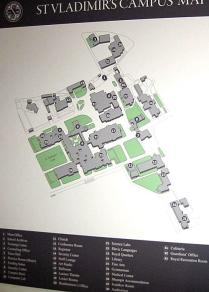 St Vladimir's Campus Map