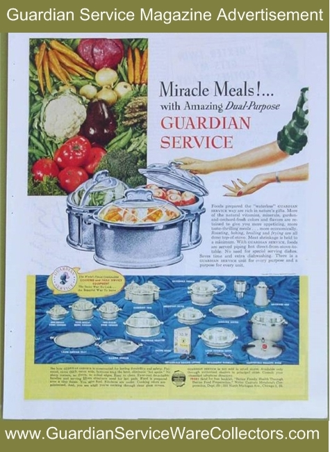 Miracle-Meals-With-Guardian-Service-www.GuardianServiceWareCollectors.com