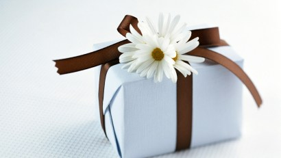 birthday gift white box