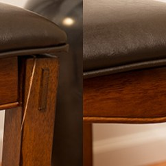 Repair Leather Chair Marcy Roman Review Furniture - Before And After Pictures   Guardsman