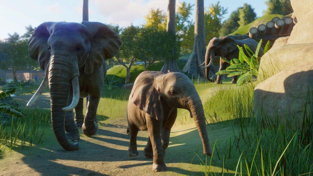Elefantes Planet Zoo