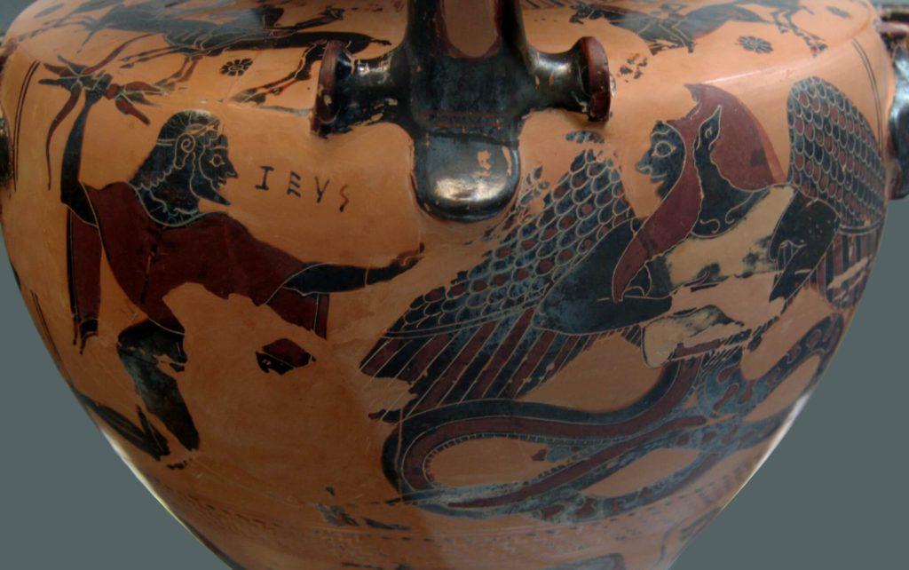 Tífon e Zeus Mitologia Grega
