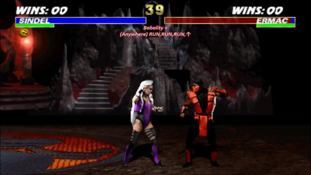 Sindel Ermac Mortal Kombat