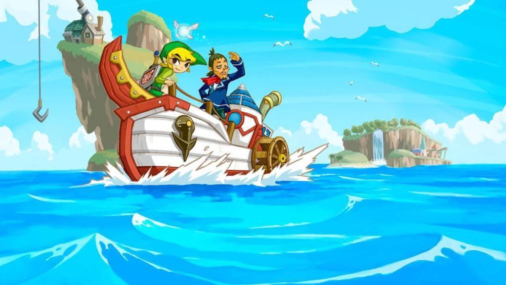 The Legend of Zelda Phantom Hourglass Nintendo DS Análise Game 003