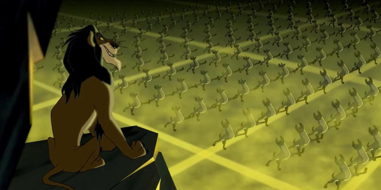 Rei Leao Scar Se Preparem Curiosidade Disney