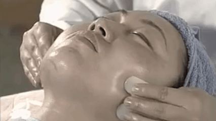 facial gua sha chin pressure points