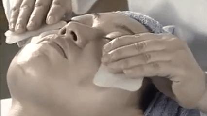 gua sha facial scraping technique