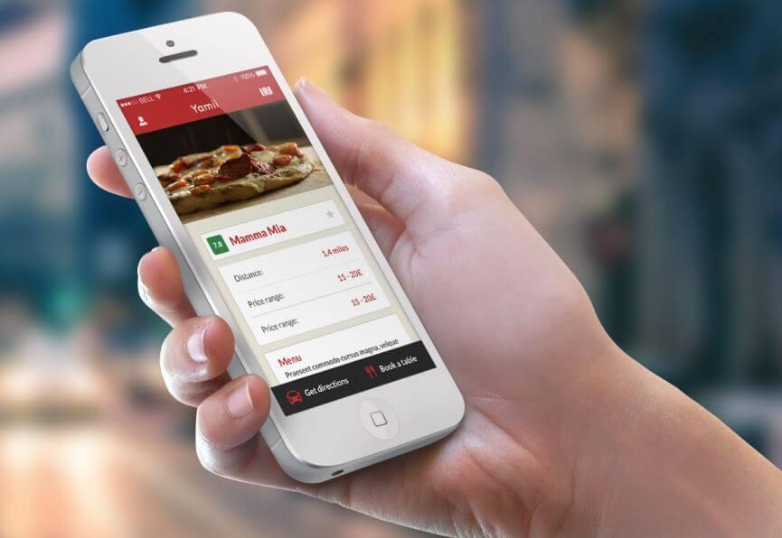 Tres Apps compiten por liderar rdenes de comida online