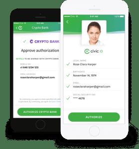Civic Blockchain ID APP