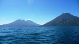 Lago Atitlan and its vulcanoes