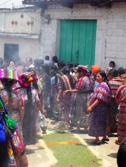 Mayan procession