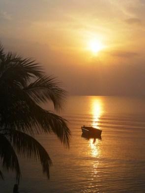 sunrise at 5.45 in Punta Gorda