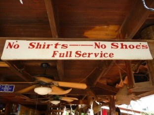 rules don't exist in Roatan