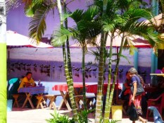 street cafe in La Libertad