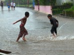 street games in Pearl Lagoon