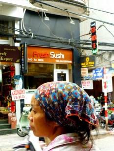 fresh sushi, we hope so