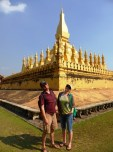 brother and sister in Vientiane