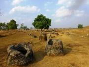 the Plain of Jars in Phongsavan