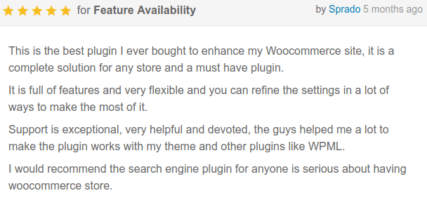 WooCommerce Search Engine - 12