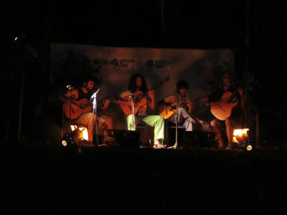 Cuarteto Ricacosa en el GuazuClub