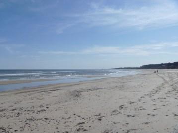 Playa en Agosto