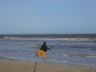 Pescando - Foto enviada por Sebastián.