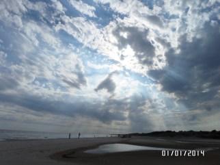Atardecer en la playa - Fotos por Adriana