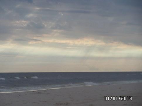 Atardecer en la playa II - Fotos por Adriana