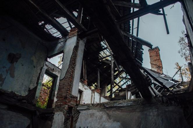 дом с привидениями заброщенный дом на улице радищева петрозаводск